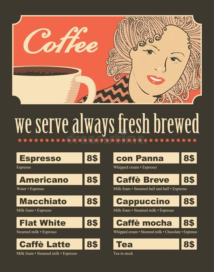 Γυναίκες με τον καφέ διανυσματική απεικόνιση