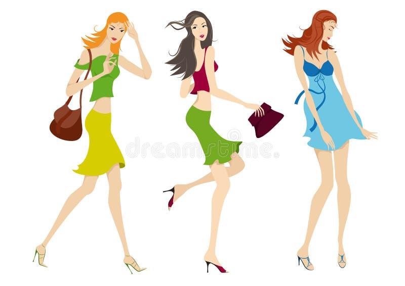 γυναίκες μόδας ελεύθερη απεικόνιση δικαιώματος