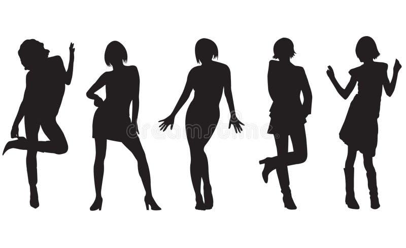 γυναίκες μόδας στοκ εικόνες με δικαίωμα ελεύθερης χρήσης