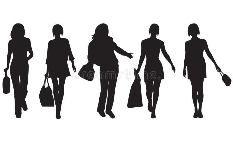 γυναίκες μόδας στοκ εικόνα