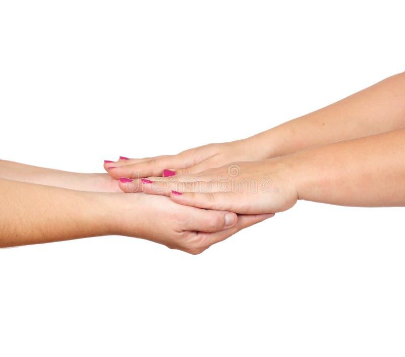 γυναίκες χεριών στοκ φωτογραφία με δικαίωμα ελεύθερης χρήσης