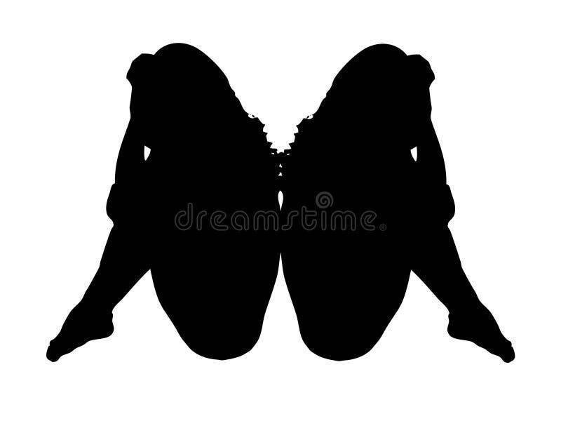 Download γυναίκες απεικόνιση αποθεμάτων. εικονογραφία από σκιαγραφία - 96883