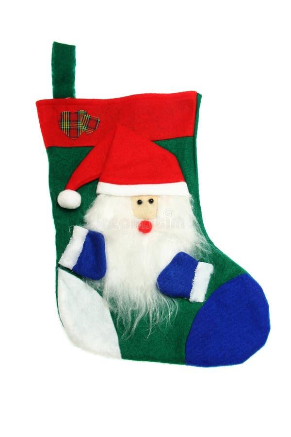 γυναικεία κάλτσα Χριστ&omicron στοκ εικόνα