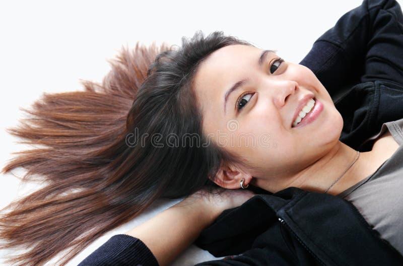 γυναικεία χαλάρωση στοκ εικόνες