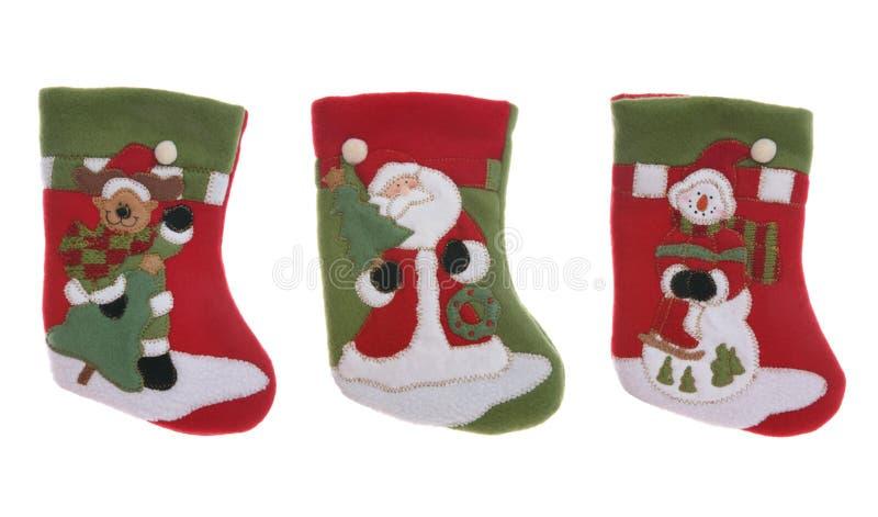 γυναικείες κάλτσες Χρι στοκ εικόνα