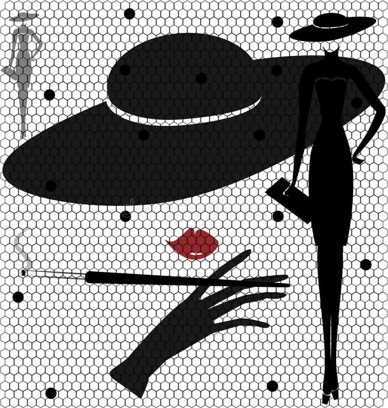 γυναικείος ξένος απεικόνιση αποθεμάτων