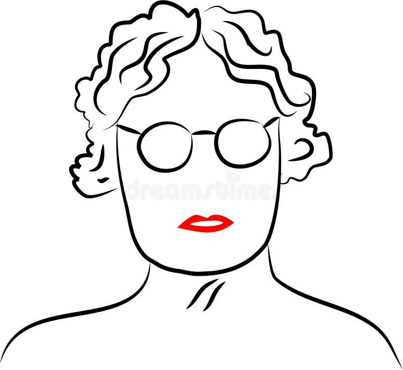 γυναικείος πρεσβύτερος ελεύθερη απεικόνιση δικαιώματος