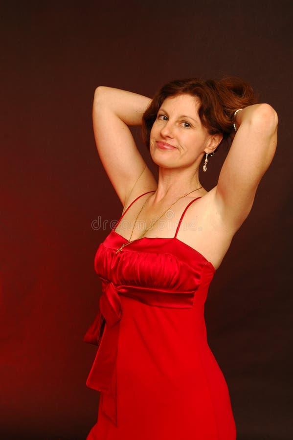 γυναικείο κόκκινο στοκ φωτογραφία με δικαίωμα ελεύθερης χρήσης
