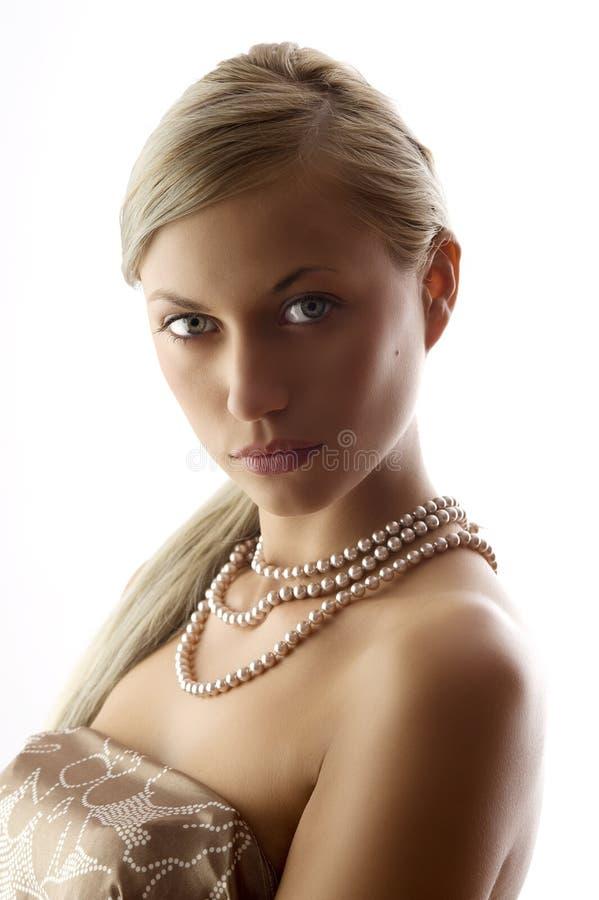 γυναικείο μαργαριτάρι στοκ φωτογραφία