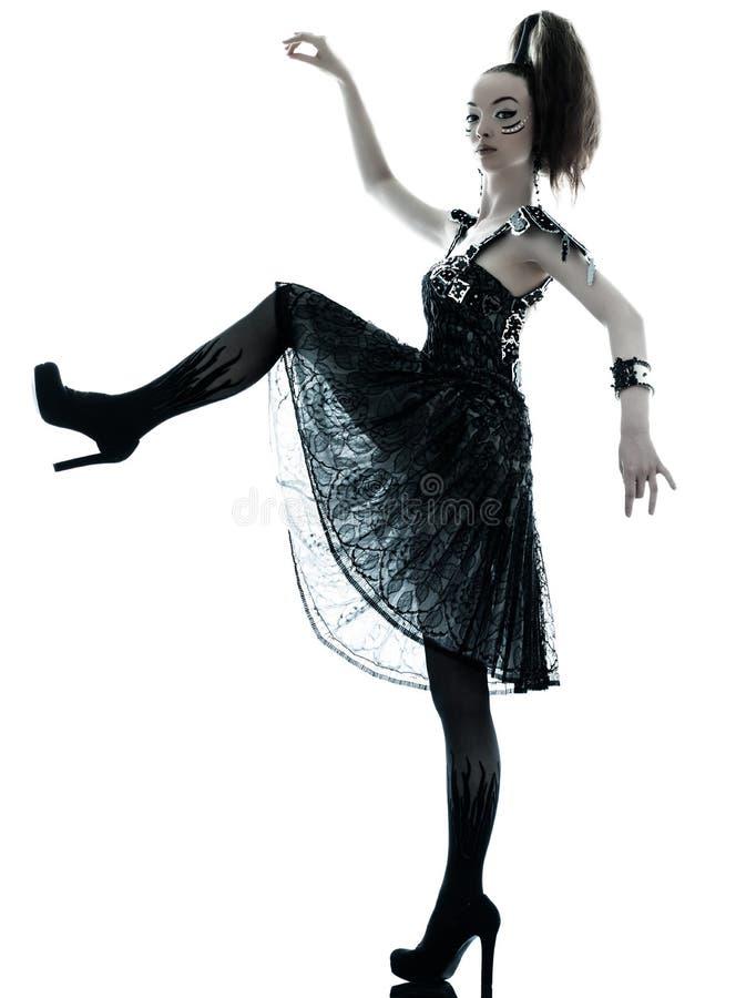 Γυναικών θερινό φόρεμα μεταξιού μόδας μαύρο στοκ φωτογραφίες με δικαίωμα ελεύθερης χρήσης
