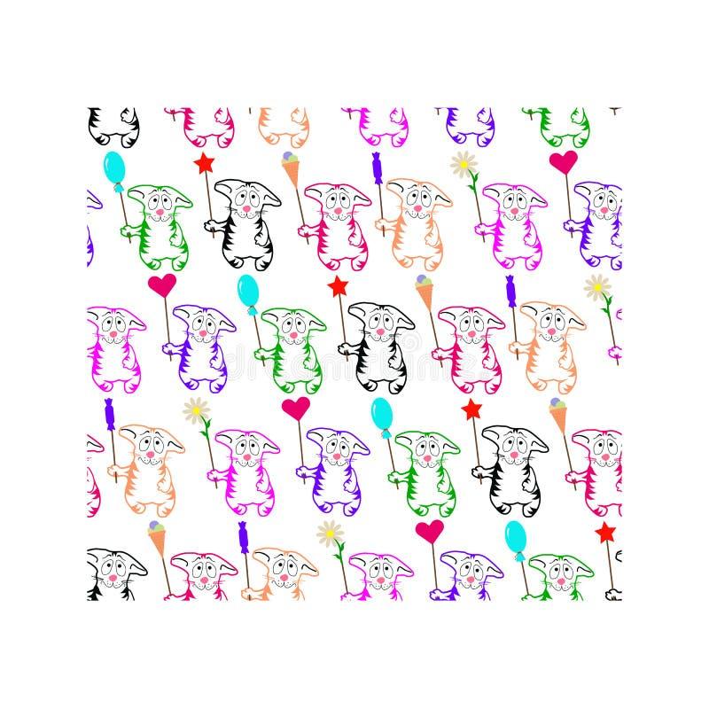 Γωνία γατακιών απεικόνιση αποθεμάτων