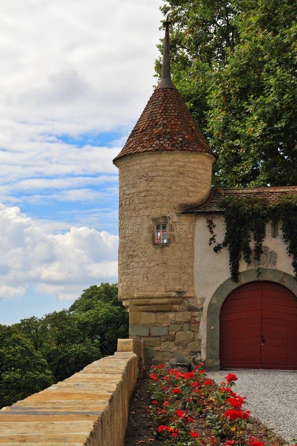 Γωνία γύρω από τον πύργο στοκ εικόνες
