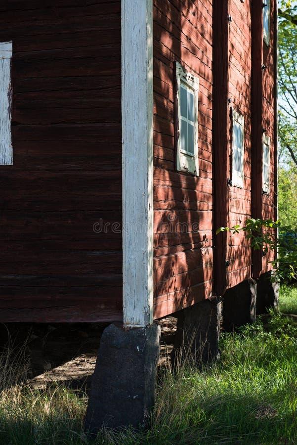 Γωνία σπιτιών στοκ φωτογραφίες με δικαίωμα ελεύθερης χρήσης