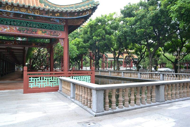 Γωνίες των κινεζικών κλασσικών κήπων στοκ εικόνες