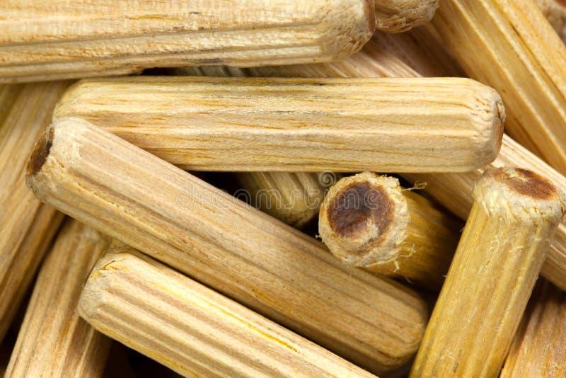 γόμφοι ξύλινοι στοκ φωτογραφίες με δικαίωμα ελεύθερης χρήσης