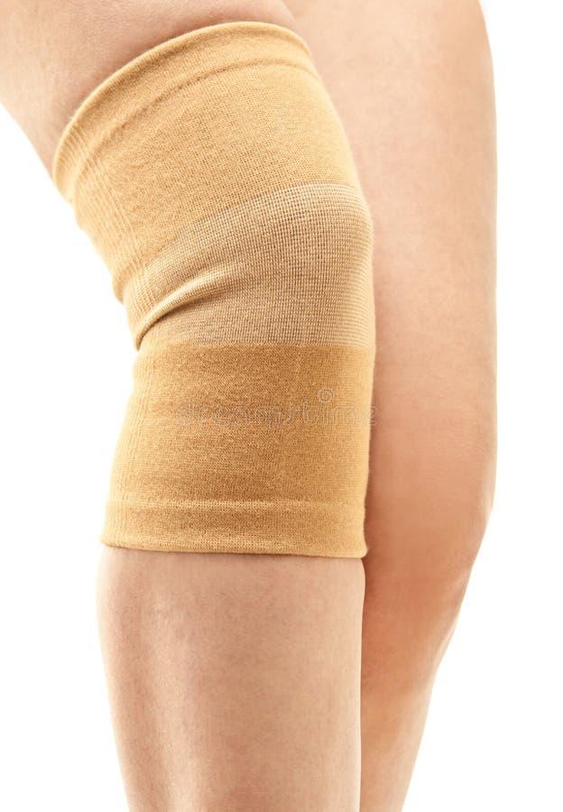 γόνατο συμπίεσης στηριγμάτων στοκ εικόνα με δικαίωμα ελεύθερης χρήσης