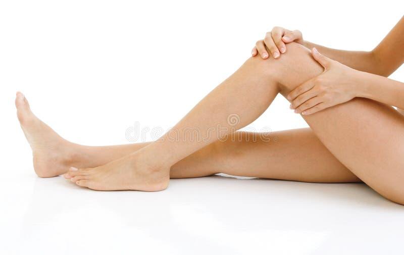 γόνατο τραυματισμών στοκ φωτογραφίες με δικαίωμα ελεύθερης χρήσης