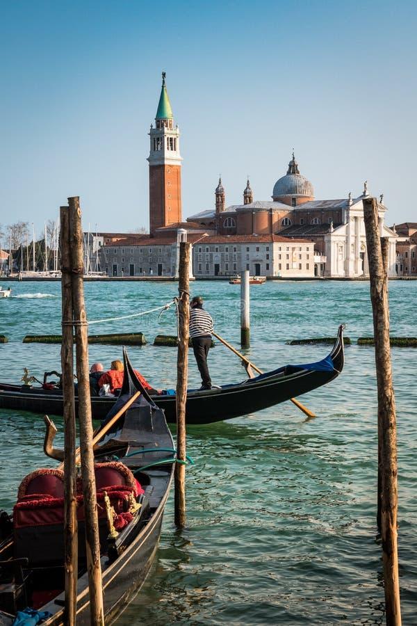 Γόνδολα της Βενετίας στοκ φωτογραφία με δικαίωμα ελεύθερης χρήσης
