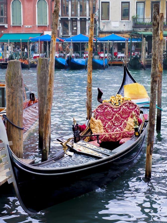 Γόνδολα στη Βενετία, Ιταλία στοκ εικόνες με δικαίωμα ελεύθερης χρήσης