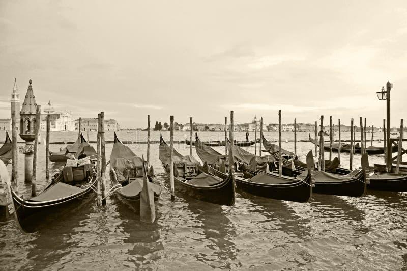 γόνδολες Βενετία στοκ φωτογραφία