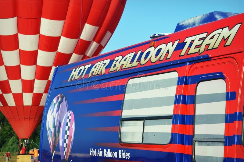 Γύροι μπαλονιών ζεστού αέρα στοκ φωτογραφία