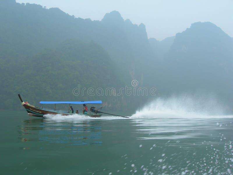 Γύρος βαρκών της Misty Longtail στοκ εικόνες με δικαίωμα ελεύθερης χρήσης