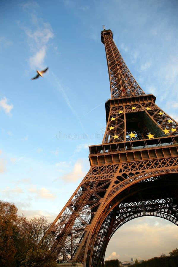 γύρος δ Άιφελ Παρίσι στοκ φωτογραφίες