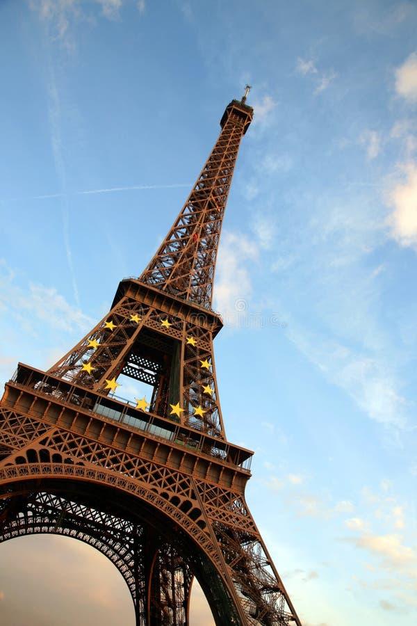 γύρος δ Άιφελ Παρίσι στοκ εικόνα με δικαίωμα ελεύθερης χρήσης