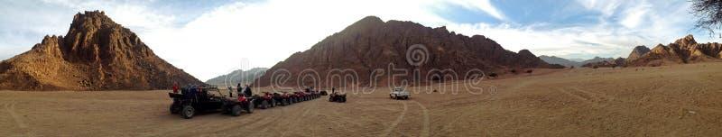 Γύρος τετραγώνων στην έρημο στοκ φωτογραφίες με δικαίωμα ελεύθερης χρήσης