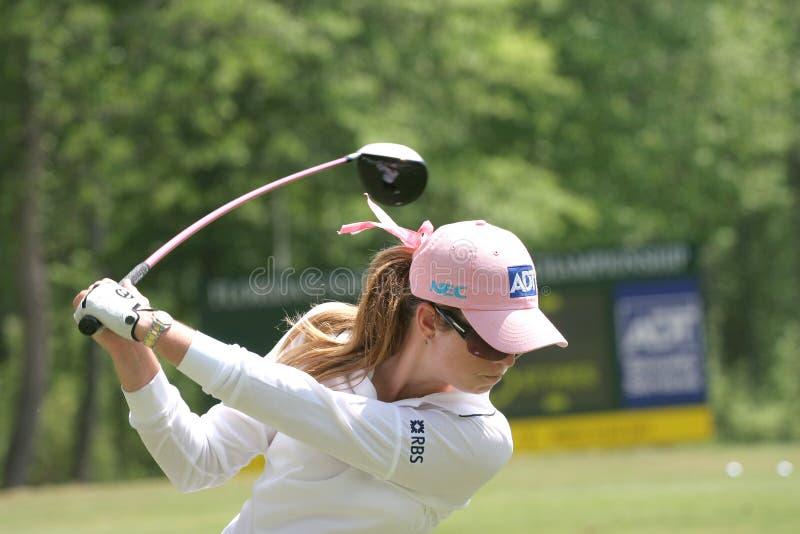 γύρος της Paula lpga γκολφ κορφ&omicr στοκ φωτογραφία
