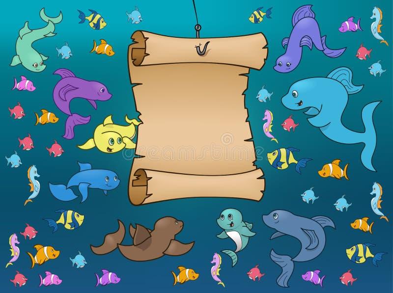 Download γύρω από το ναυτικό χαρτών ζω Διανυσματική απεικόνιση - εικονογραφία από χαριτωμένος, κωμικός: 13182150