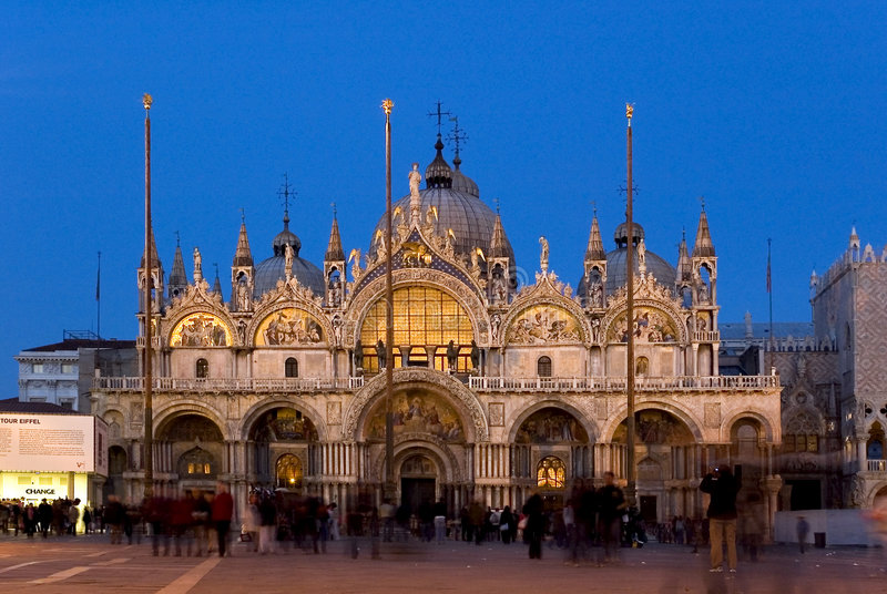Download γύρω από το Marco SAN Βενετία Στοκ Εικόνα - εικόνα: 117723