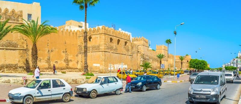 Γύρω από Sfax Medina στοκ εικόνες με δικαίωμα ελεύθερης χρήσης