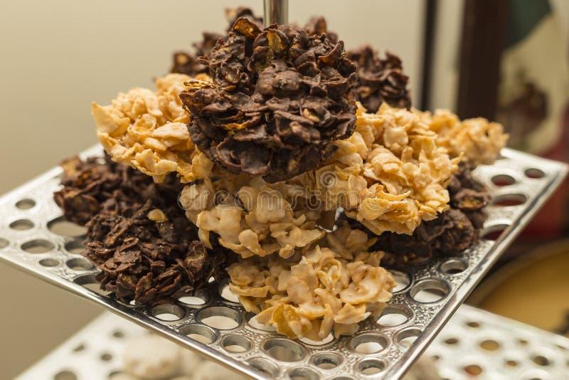 Γλυκά νιφάδων καλαμποκιού στοκ εικόνα με δικαίωμα ελεύθερης χρήσης