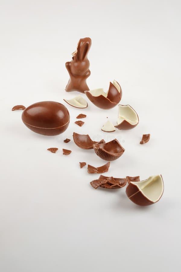 Γλυκά Πάσχας σοκολάτας στοκ εικόνες με δικαίωμα ελεύθερης χρήσης