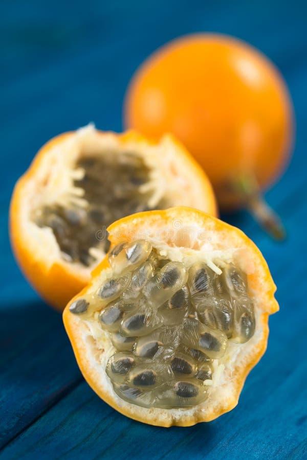 Γλυκά Granadilla ή φρούτα Grenadia στοκ φωτογραφία με δικαίωμα ελεύθερης χρήσης