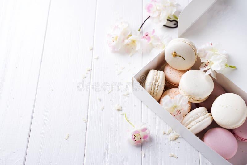 Γλυκά macaroons provans στοκ φωτογραφίες με δικαίωμα ελεύθερης χρήσης