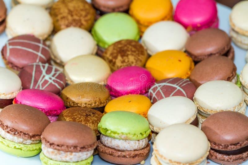 Γλυκές πραλίνες Macarons στοκ φωτογραφία με δικαίωμα ελεύθερης χρήσης