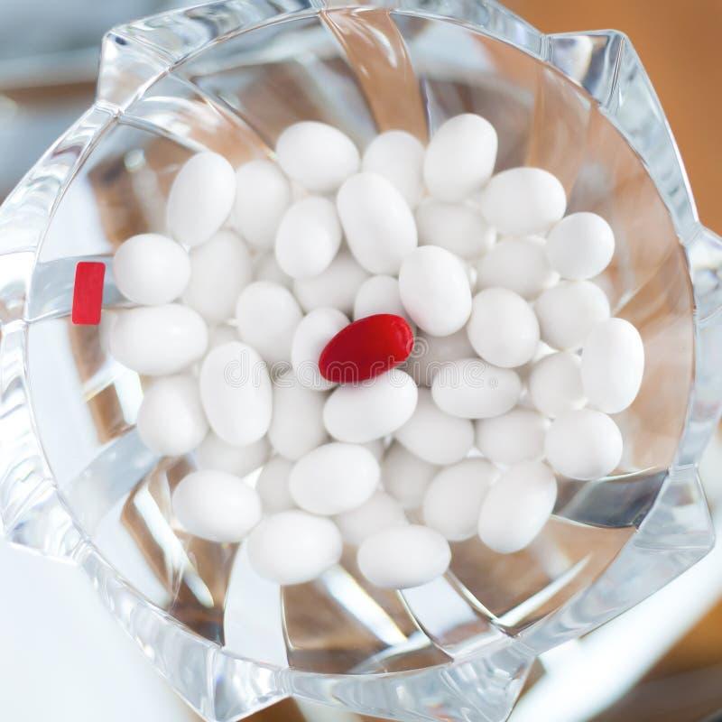 Γλυκαμένα αμύγδαλα στοκ φωτογραφία με δικαίωμα ελεύθερης χρήσης