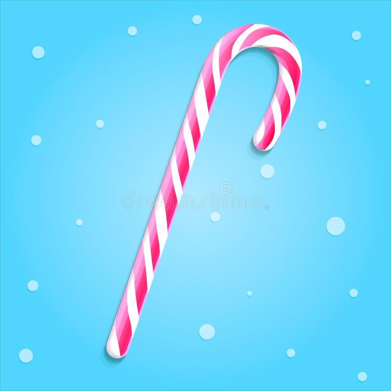 Γλυκός κάλαμος Χριστουγέννων στοκ εικόνες με δικαίωμα ελεύθερης χρήσης