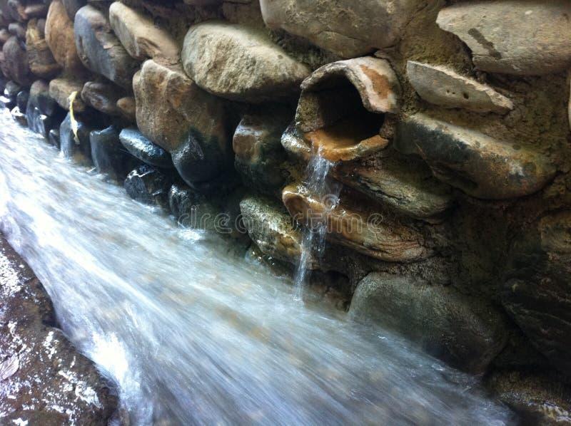 Γλυκό νερό από την οροσειρά σε Aceguiqa στοκ φωτογραφία με δικαίωμα ελεύθερης χρήσης