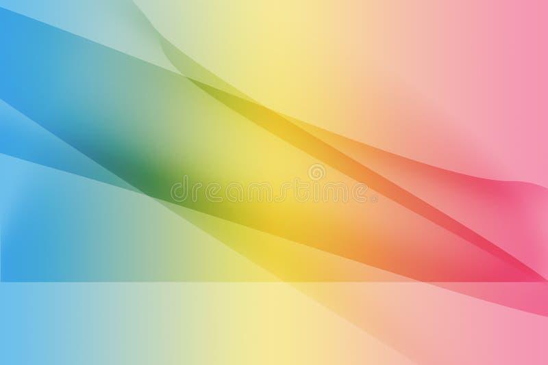 Γλυκό υπόβαθρο γραμμών καμπυλών στοκ εικόνες με δικαίωμα ελεύθερης χρήσης