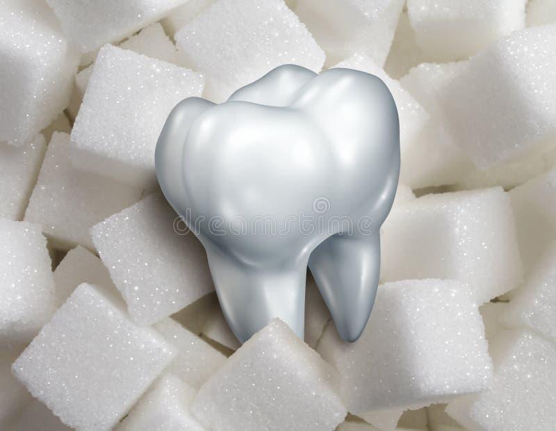 Γλυκό δόντι διανυσματική απεικόνιση