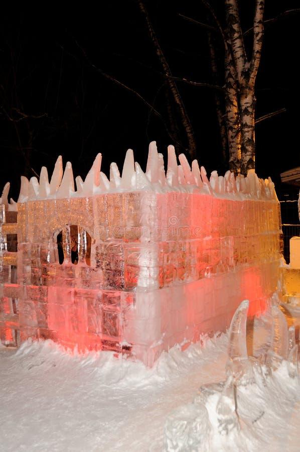 γλυπτά πάγου στοκ εικόνες