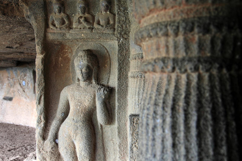 Γλυπτά του Βούδα στοκ φωτογραφία