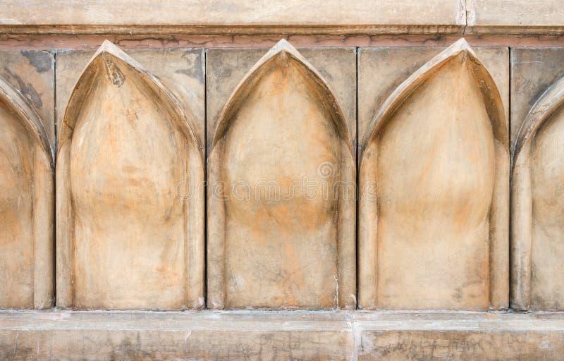 Γλυπτική πετρών φύλλων Lotus στοκ εικόνα με δικαίωμα ελεύθερης χρήσης