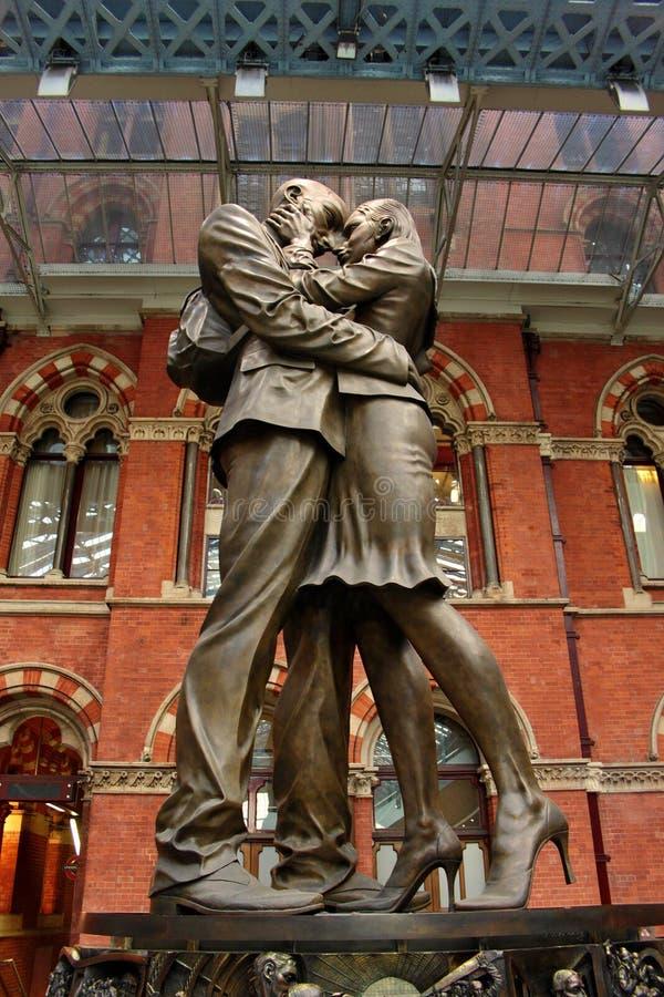 Γλυπτό αγάπης στοκ φωτογραφία με δικαίωμα ελεύθερης χρήσης
