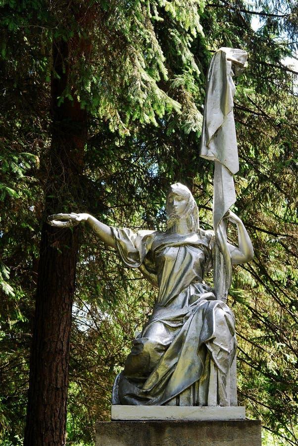 Γλυπτό Ρωσία στο πάρκο Grutas κοντά σε Druskininkai στοκ εικόνες με δικαίωμα ελεύθερης χρήσης