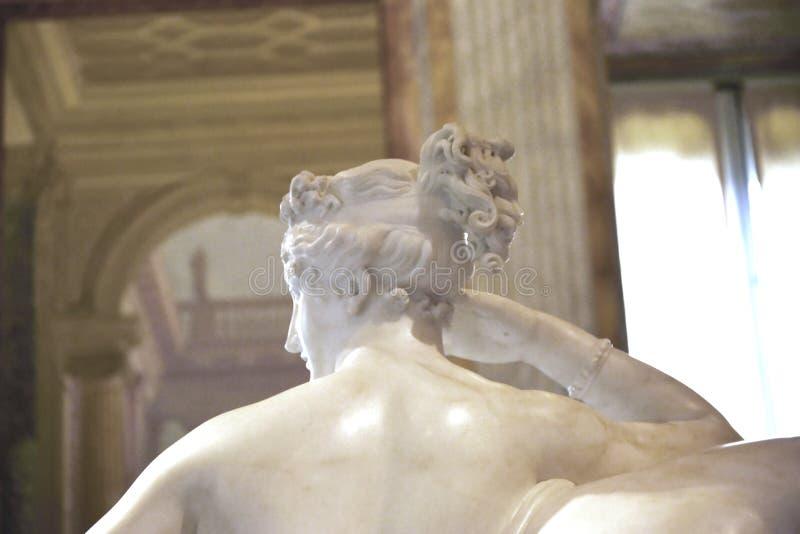 Γλυπτό της αδελφής Napoleon ` s στο Galleria Borghese Ρώμη Ιταλία στοκ εικόνες