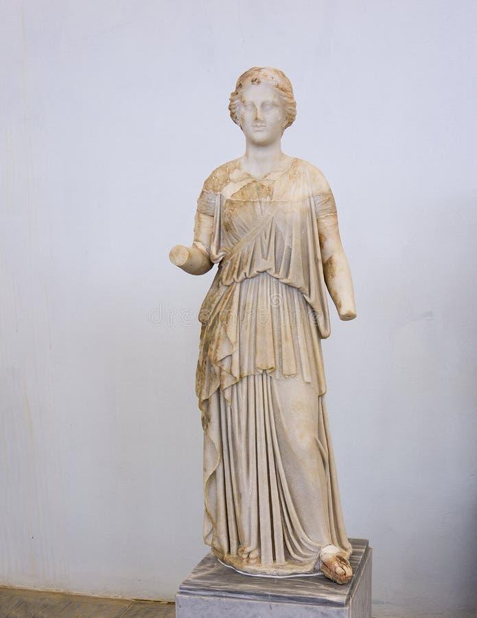 Γλυπτό της Artemis στοκ φωτογραφίες